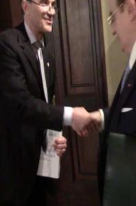 Marcello Lopez e Giancarlo Elia Valori
