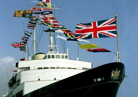 Britannia, il panfilo della Corona d'Inghilterra