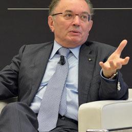 Il presidente di Confindustria Giorgio Squinzi. (Ansa)