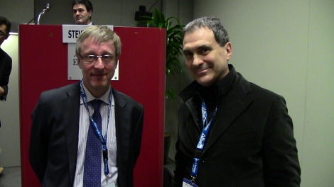 Marcello Lopez and Steve Purser of ENISA -  European Network and Information Security Agency - Head of Technical Competence Departement