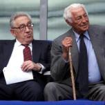 Henry Kissinger e Giovanni Agnelli