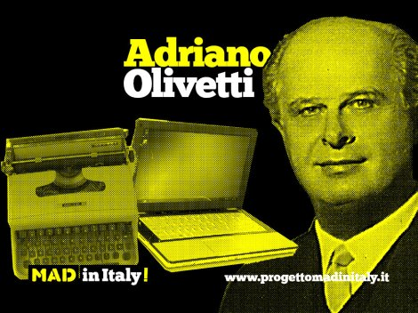 Utopia named Olivetti. In the fifties the small Piedmont town of Ivrea hosted one of the most innovative and futuristic industrial projects in Italian history, the result of the revolutionary ideas of an entrepreneur who decided to turn into reality what for many was a pipe dream: Adriano Olivetti ..