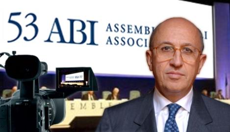 Antonio Patuelli, presidente dell'Abi
