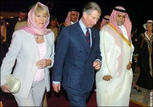 Camilla, Prince Charles and Bandar