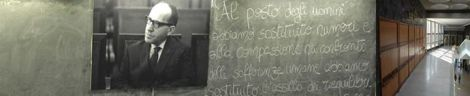 Federico Caffè, economista italiano. (Pescara, 6 gennaio 1914 – Roma, 15 aprile 1987 .