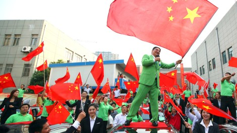 Photographer: AP Photo - Chinese billionaire and philanthropist Chen Guangbiao offers Chinese cars to owners of Japanese cars damaged during anti-Japan protests in Nanjing, China on Oct. 10, 2012.