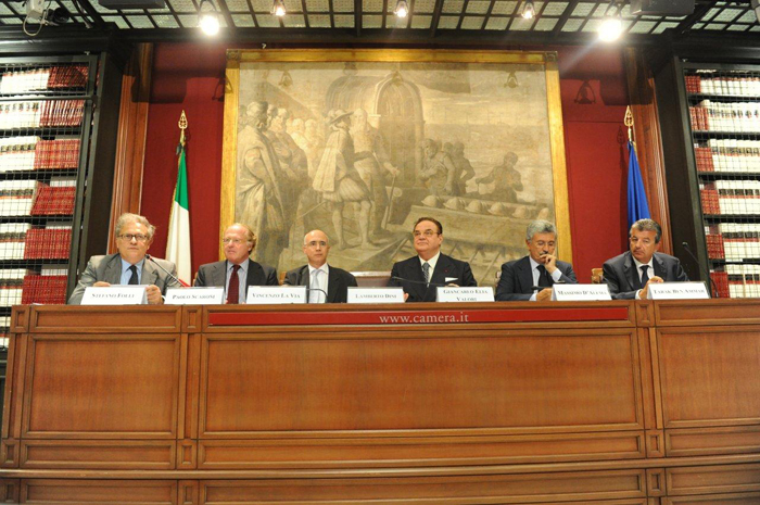 Stefano-Folli,-Paolo-Scaroni,-Vincenzo-La-Via,-Giancarlo-Elia-Valori,-Massimo-D'Alema,-Tarak-Ben-Ammar
