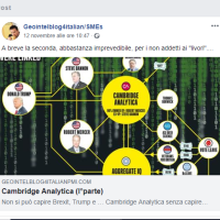 Cambridge Analytica: fregato sul tempo dal NYT ... shit !